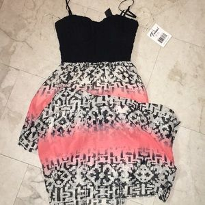 Bustier style maxi dress NWT!